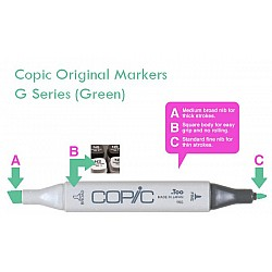 Copic Markers - G Series