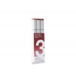 Copic Sketch Marker 3pc Color Fusion Set 3