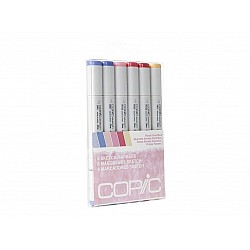 Copic 6pc Sketch Markers Set - Floral Favorites 2