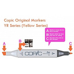 Copic Markers - YR Series