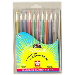 Sakura Gelly Stardust Set of 10 pens