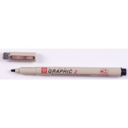 Sakura Pigma Graphic Pen 1mm - Black