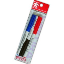 Sakura 2mm Calligraphy Pens - Set of 3