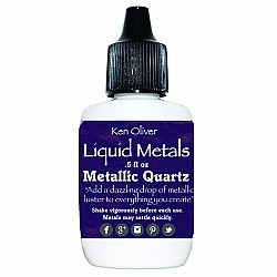 Ken Oliver Color Burst Liquid Metal 6gm - Metallic Quartz