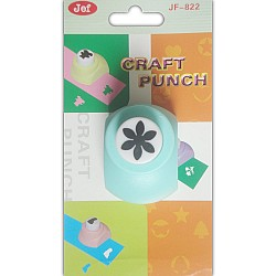 Jef Craft Punch - 6 petal flower - Small