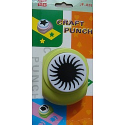 Jef Giant Craft Punch - Sun centre for flower