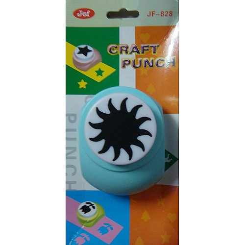 Jef Giant Craft Punch - Sun centre for flower spacious