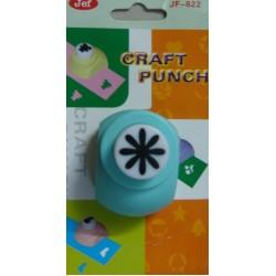 Jef Craft Punch - 8 petal flower - Small 822