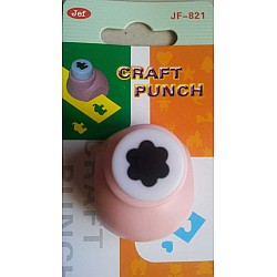 Jef Craft Punch - 6 petal rounded flower - Extra Small (JF-821)
