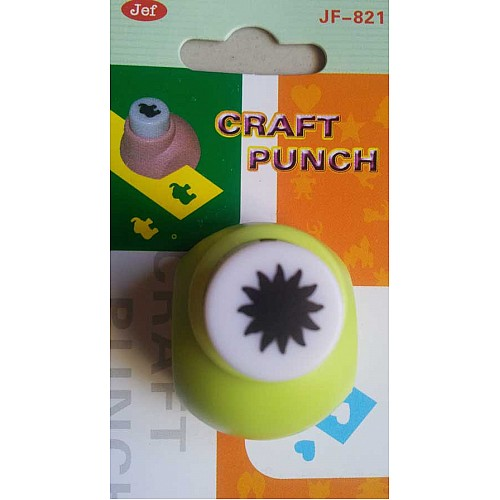 Jef Craft Punch - Sun center for flower - Extra Small (JF-821)