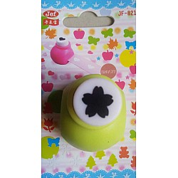 Jef Craft Punch - 5 petal flower with curled ends - Extra Small (JF-821)