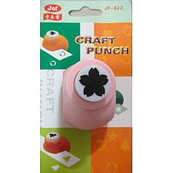 Jef Craft Punch - 5 petal Sakura flower - Small