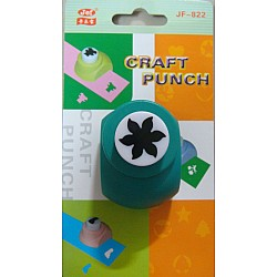Jef Craft Punch - 6 petal curly end - Small