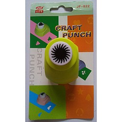 Jef Craft Punch - sun punch for center of flower - Small