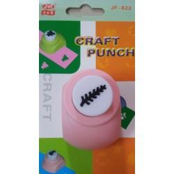 Jef Craft Punch - Leaf - Design 1 - Small