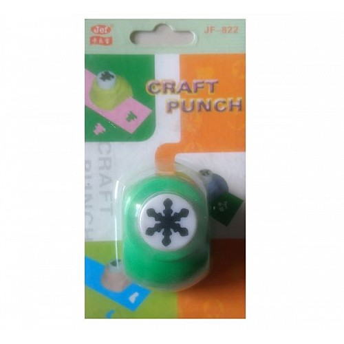 Jef Craft Punch - Snowflake Design 1 - Small