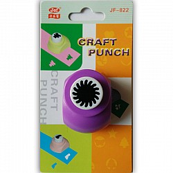 Jef Craft Punch - Sun centre for flower (big centre) - Small