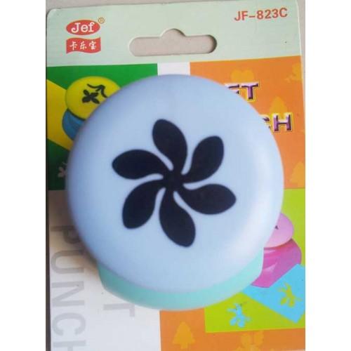 Jef Craft Punch - 6 petal curly end flower
