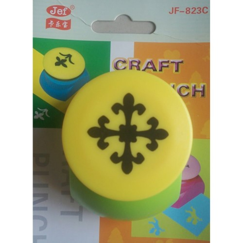 Jef Craft Punch -  Patterned Diamond