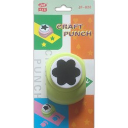 Jef Giant Craft Punch - 6 petal rounded flower