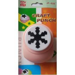 Jef Giant Craft Punch - Snowflake Design 1
