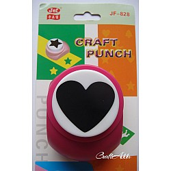 Jef Giant Craft Punch - Heart