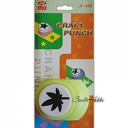 Jef Giant Craft Punch - leaf