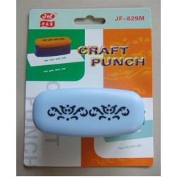 Jef Giant Craft Punch -  Swirl Pattern
