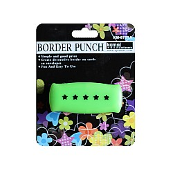 Kamei Border Punches -  Spaced Stars
