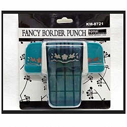 Kamei Border Punch - Floral Border