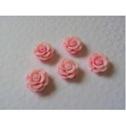 Resin Roses (1cm)  - Pink