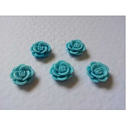 Resin Roses (1cm)  - Blue