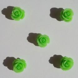 Resin Roses (1cm) - Design 1 - Green