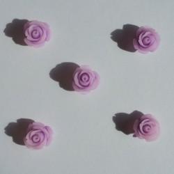 Resin Roses (1cm) - Design 1 - Purple