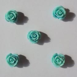 Resin Roses (1cm) - Design 1 - Blue