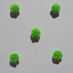 Resin Flower (1 cm) - Design 2 - Green