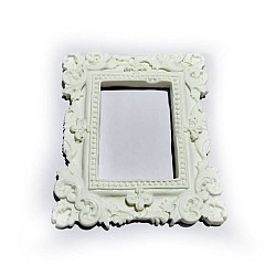 Resin Large Vintage Rectangle Frame