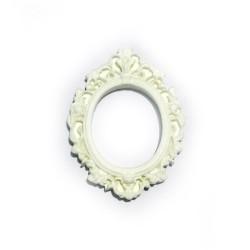 Resin rectangle frame - Design 8 (Pack of 5 frames)