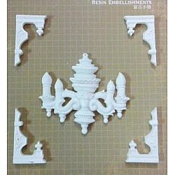 Resin Embellishments by Eno Greetings - Design 3