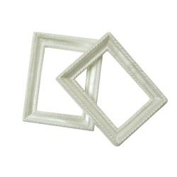 Resin rectangle frame - Design 1 (Pack of 5 frames)
