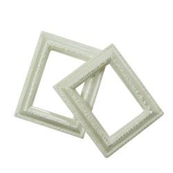 Resin rectangle frame - Design 2 (Pack of 5 frames)