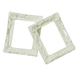 Resin rectangle frame - Design 3 (Pack of 5 frames)