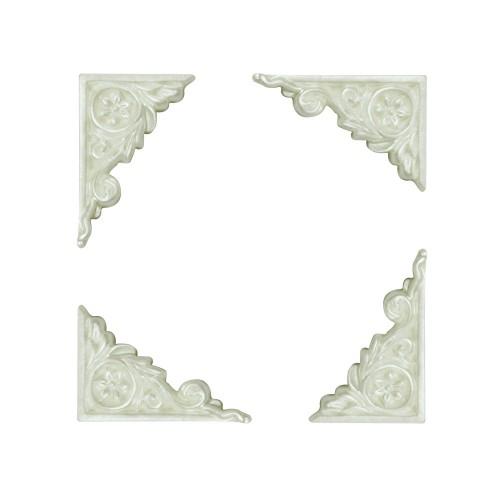 Resin corners - Design 1 (Pack of 10 corners)