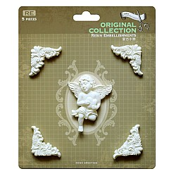Resin Embellishments by Eno Greetings - Design 10