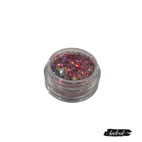 Craft Sequin Mixes - Pink and Holographic