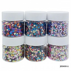 Craft Sequin Mixes (Set of 6) - Mix - JDSM00-A