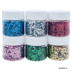 Craft Sequin Mixes (Set of 6) - Diamond - JDSR00-A