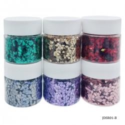 Craft Sequin Mixes (Set of 6) - Hearts - JDSH51-B