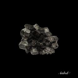 Craft Glass Resin Stones - Black