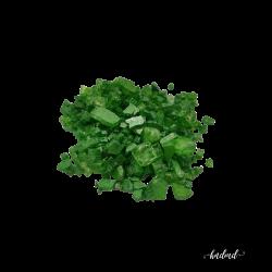 Craft Glass Resin Stones - Metallic Green
